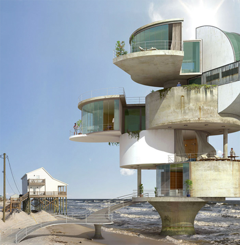 Surrealist Disaster Proof Architecture 4