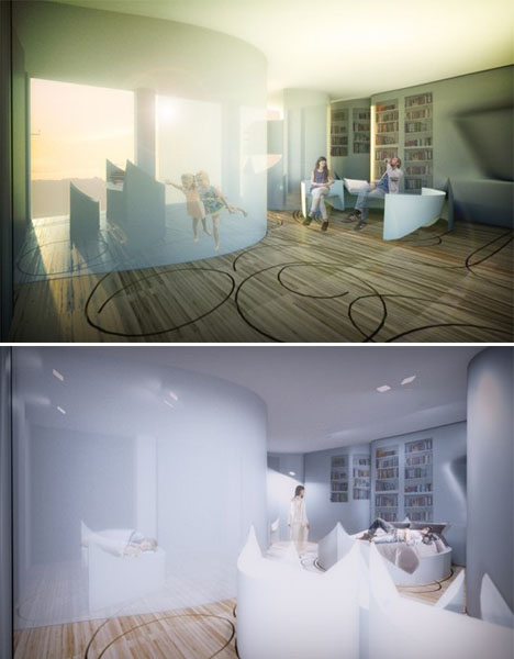 Transforming Interiors Pop Up Apartment