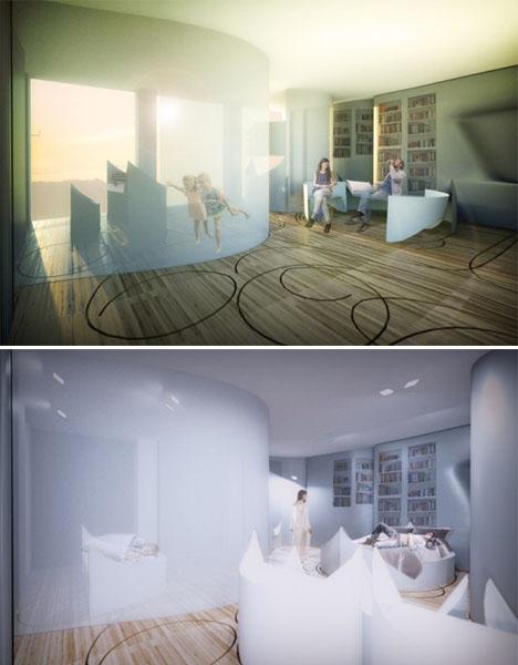 Transforming Interiors Pop Up Apartment