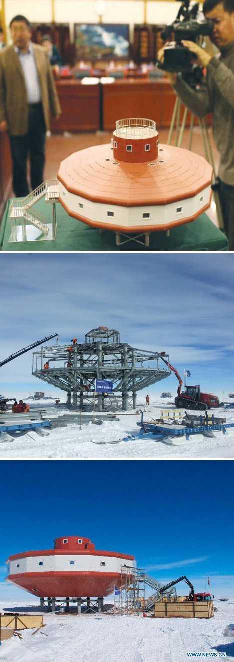 China Taishan antarctic station