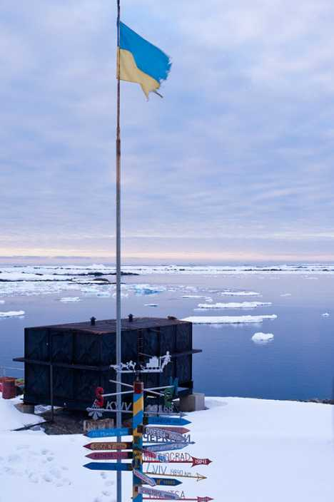 Ukraine Vernadsky Research Base Antarctica