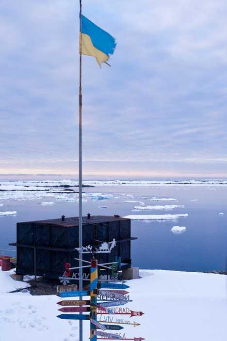 Ukraine Vernadsky Research Base Antarctica