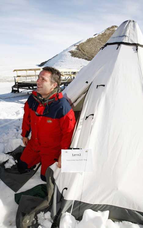 Norway Troll Station Antarctica