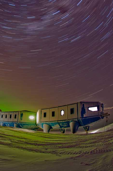 UK Great Britain Halley VI Mobile Research Station Antarctica