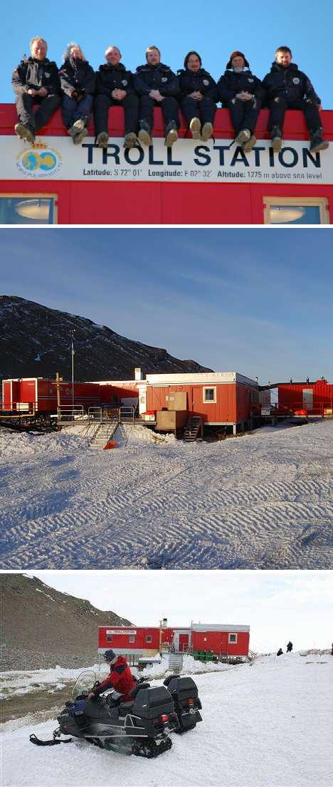 Norway Troll antarctic station