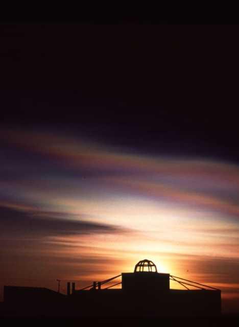 Japan Showa Station Antarctica noctilucent clouds