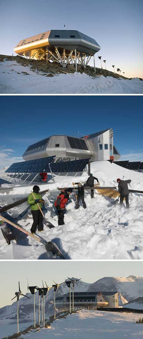 Home Ice 12 International Antarctic Research Stations