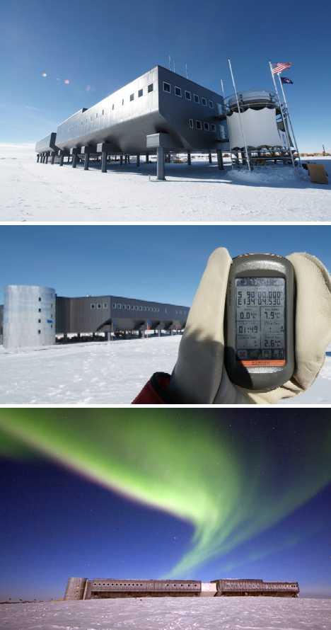 Amundsen-Scott South Pole Station Antarctica