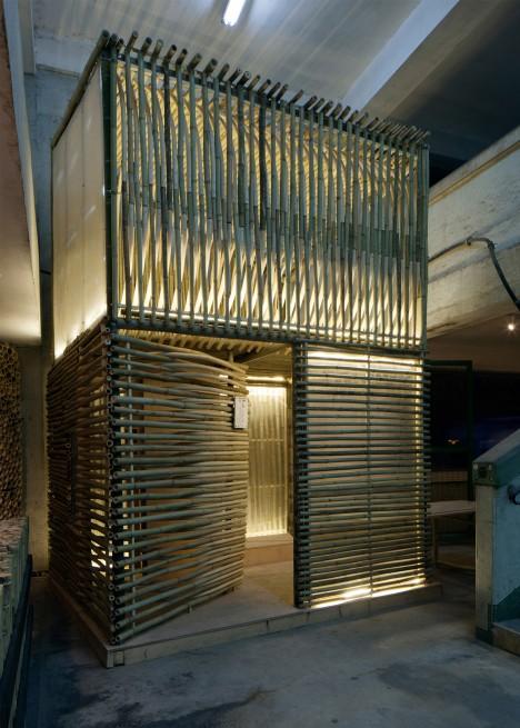 bamboo micro dwelling factory