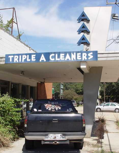 abandoned Triple A Cleaners Baton Rouge
