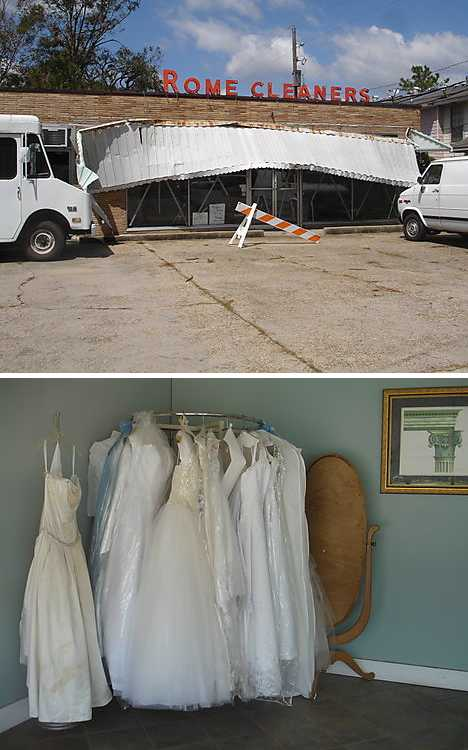 The way we wore 12 clothesed abandoned dry cleaners for Wedding dress cleaning baton rouge