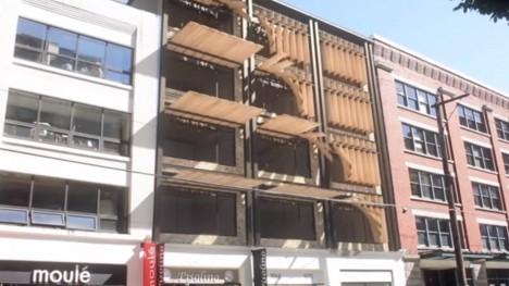 dynamic facade shading