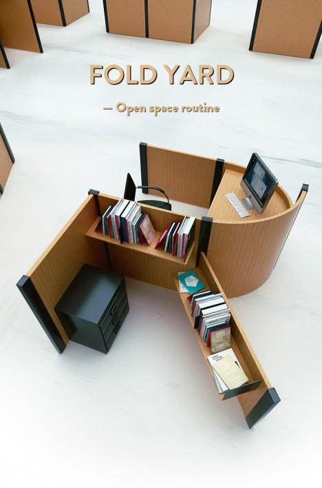 furniture fold yard set