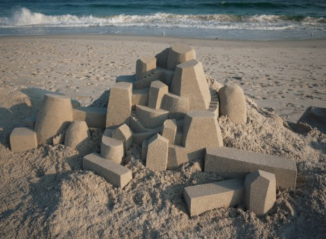geometric beach architecture design