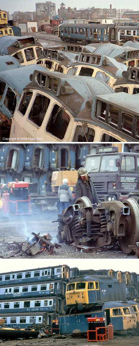 Vic Berry's Scrapyard train graveyard