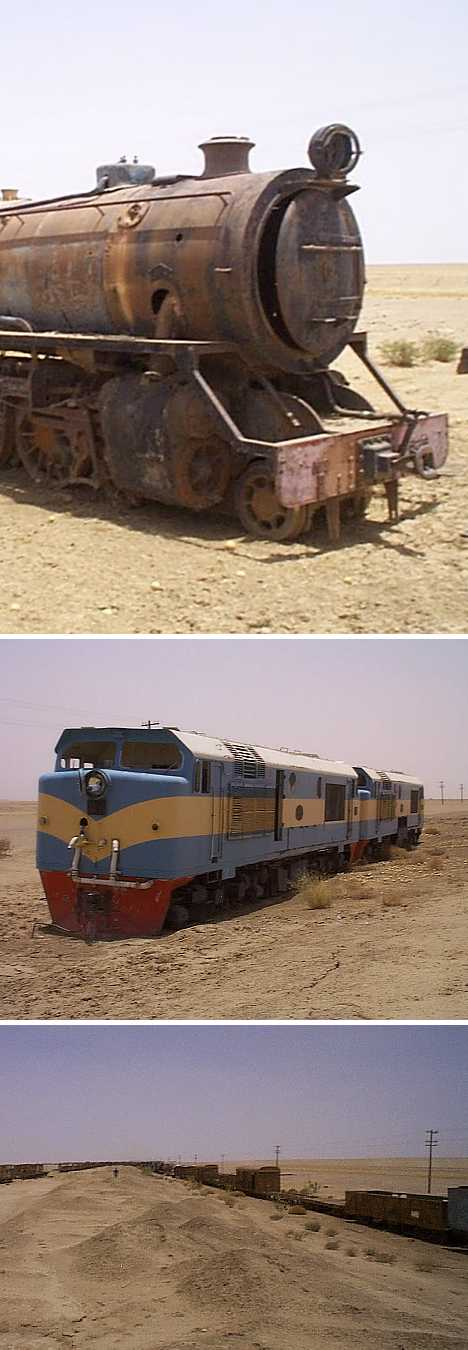 train graveyard Shendi Sudan