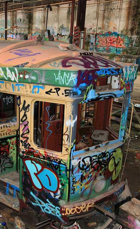 Rozelle Tram Depot Sydney Australia