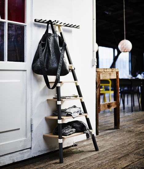 ikea designer wall shelf