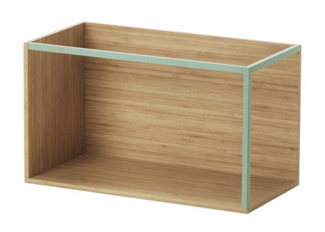 ikea portable box shelf