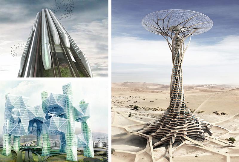 skyscraper award winning designs