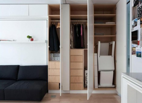 small space storage closets