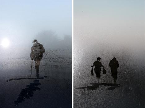 steam glass sketch photos