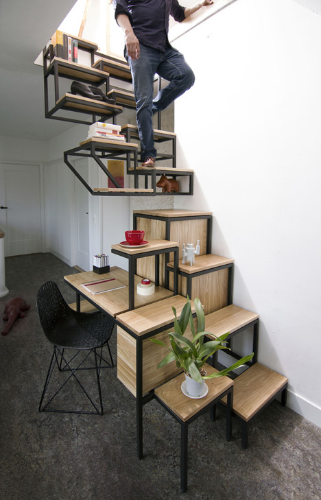 steel stairs design framework