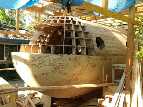 tsunami capsule outer hull