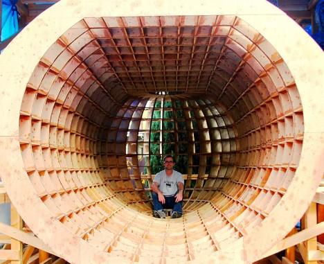 tsunami proof disaster capsule