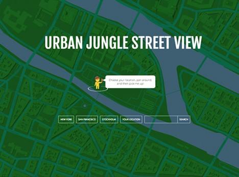 urban jungle street maps