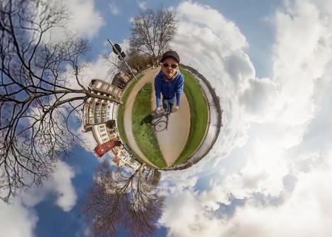 3d bike ride video
