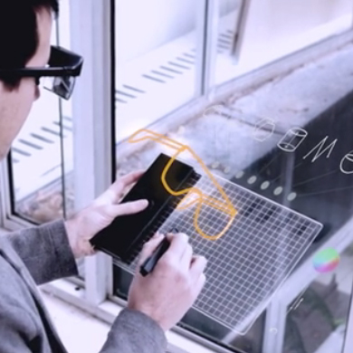 Gravity: Augmented Reality Tablet Lets You Draw Ideas in 3D