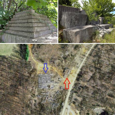 American Castle Ruins Bedford Pyramid 1
