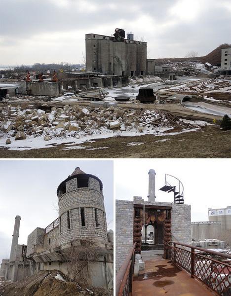 American Castle Ruins Cementland