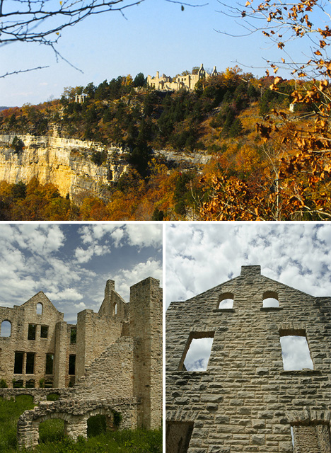 American Castle Ruins Ha Ha Tonka