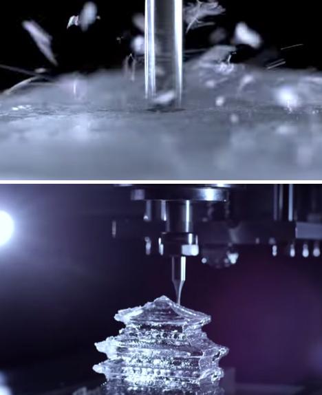 CNC Milled Ice Suntory 3