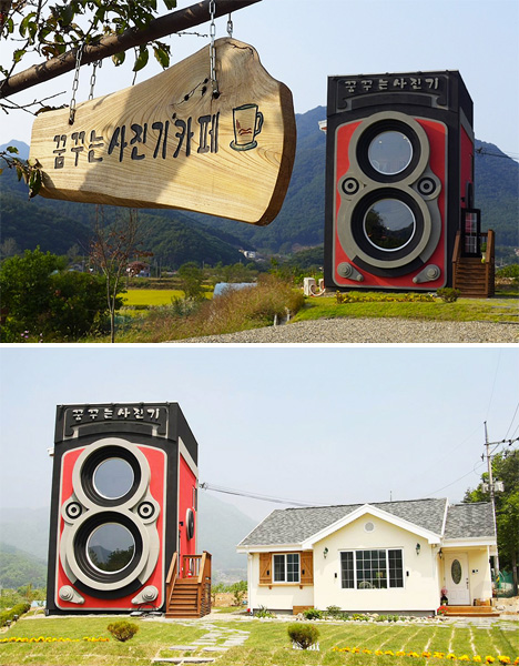 Camera Shaped Cafe 3