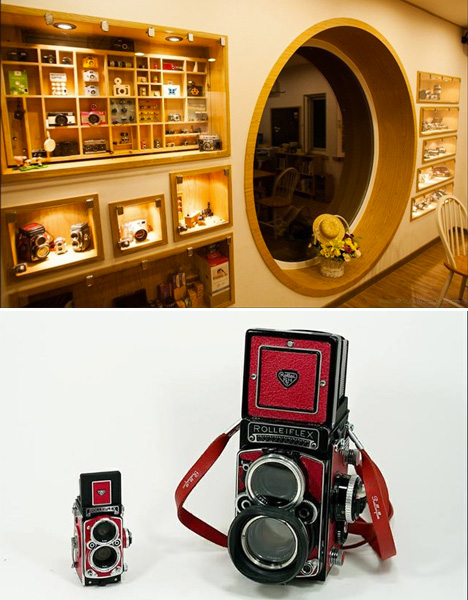 Camera Shaped Cafe