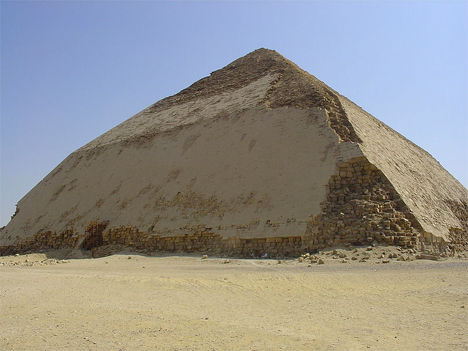 Engineering Fail Bent Pyramid