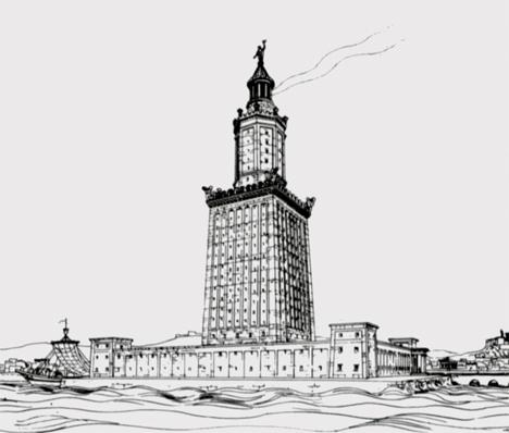 Engineering Fail Lighthouse Alexandria