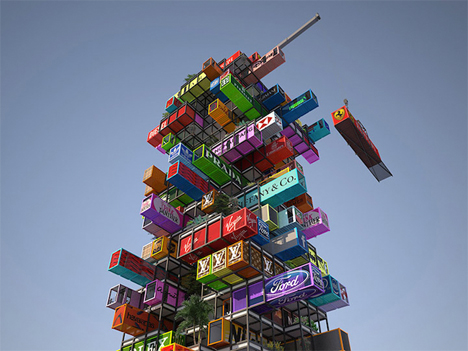 Hive Inn Shipping Container Hotel 3
