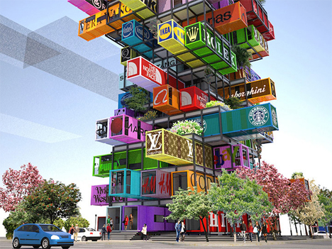 Hive Inn Shipping Container Hotel 4