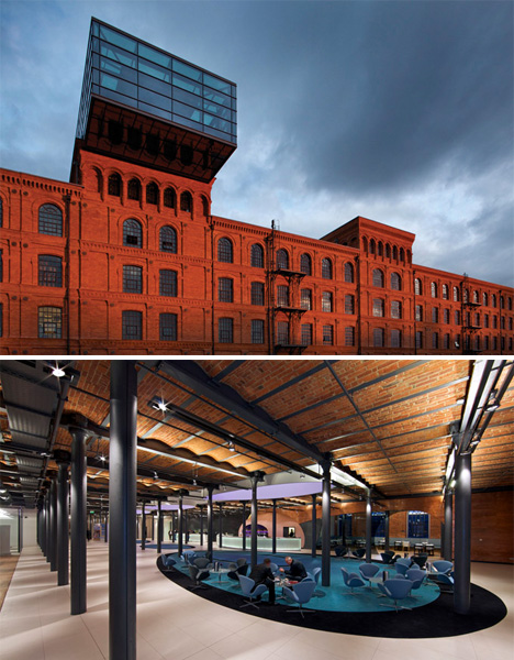 Hotel Architecture Andels Lodz