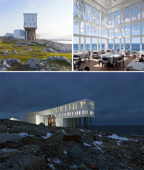 Hotel Architecture Fogo Island