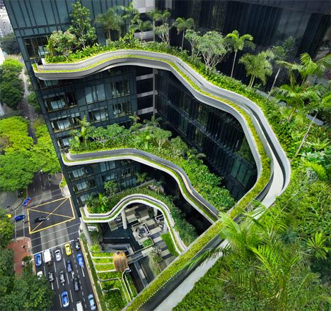 Hotel Architecture Park WOHA 1