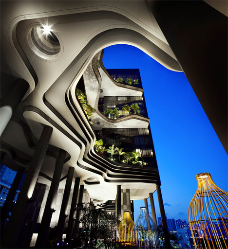 Hotel Architecture Park WOHA 2
