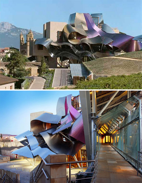 Hotel Architecture Riscal Gehry