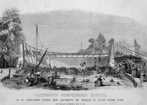 Modern Engineering Fail Yarmouth Bridge