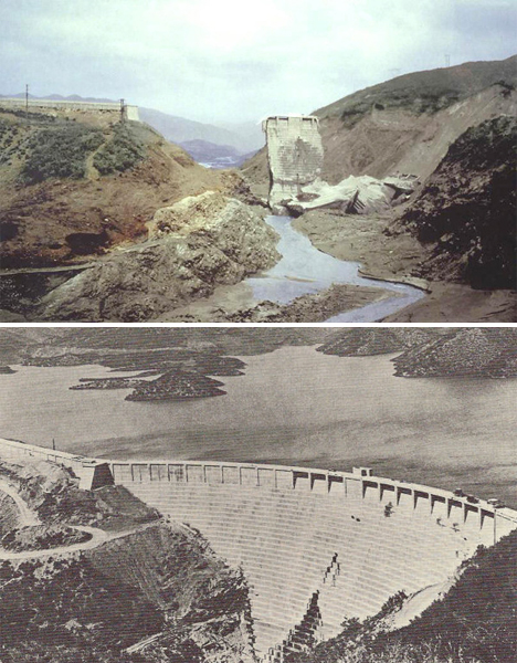 Modern Engineering Failures St Francis Dam