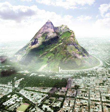 Mountain Architecture The Berg